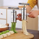 5 heads Limai hand-cranked household small stainless steel manual noodle press