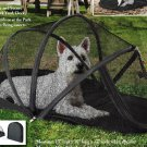 Collapsible cage fence was easy to carry Portable Pet Dome tent pet house pet outdoors