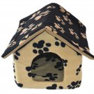 Pet dog house with cloth mats washable pet cat litter cat sand Teddy
