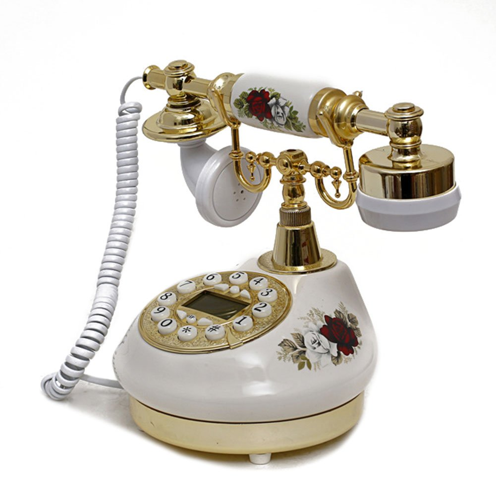 Antique Style Rotary Phone Princess French Style Old Fashioned Handset Telephone  TC-503