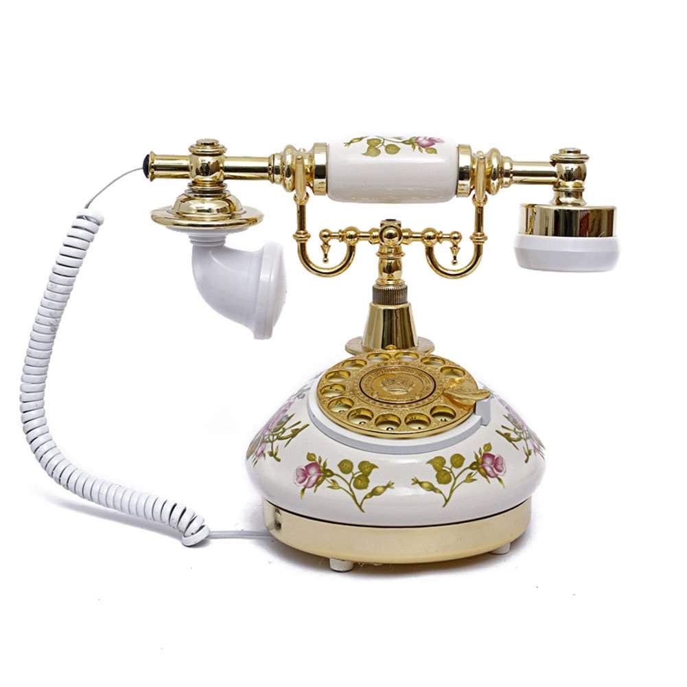 Antique Style Rotary Phone Princess French Style Old Fashioned Handset Telephone  TC-501S