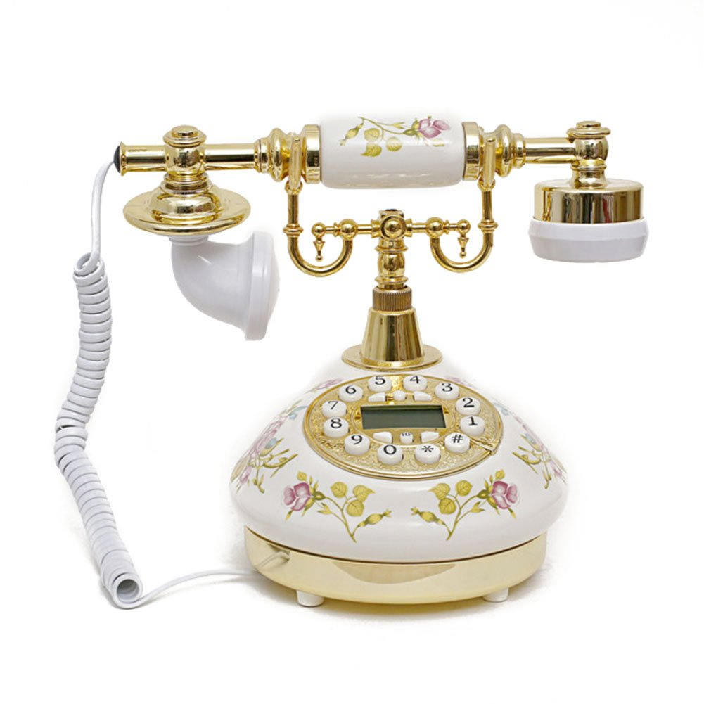Antique Style Rotary Phone Princess French Style Old Fashioned Handset Telephone  TC-501