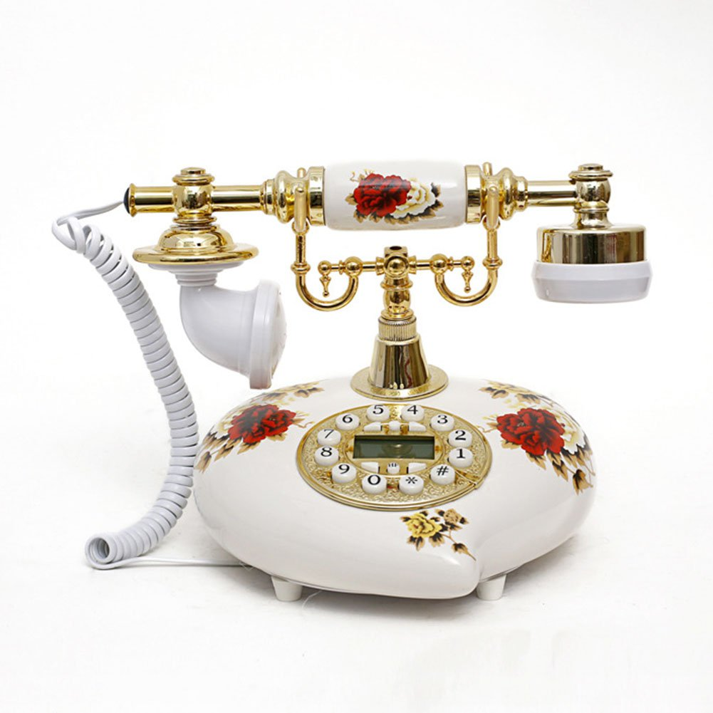 Antique Style Rotary Phone Princess French Style Old Fashioned Handset Telephone  TC-508