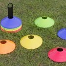 50 Field Marking / Marker Disc Cones Soccer Football Training Sports Free Holder
