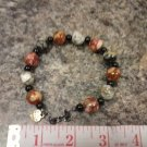 048 Handmade Multicolor Agate Beaded Bracelet