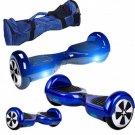 Dual Wheels Smart Self Balancing Electric Scooter Eco-friendly Vehicle Drifting Board - Blue