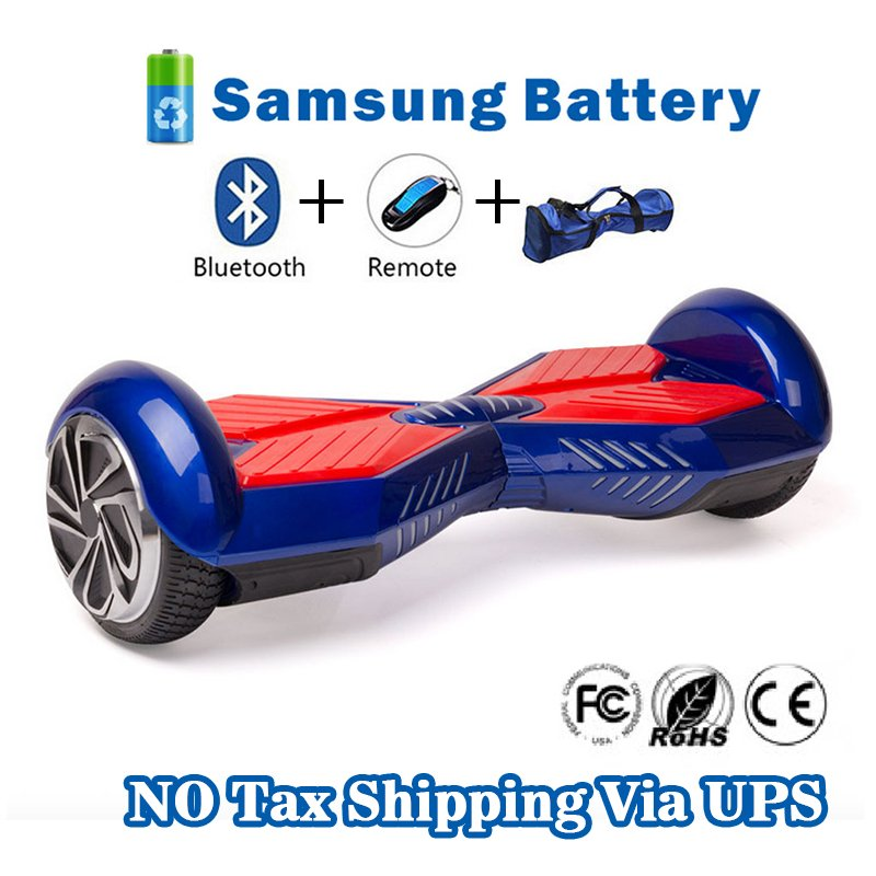Two Wheel Smart Self Balancing Electric Scooter Transformers Blue