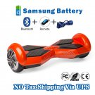 Two Wheel 4400mAh Battery Self Balancing Scooter - Transformers Orange