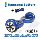 Two Wheel 4400mAh Battery Self Balancing Scooter - Blue