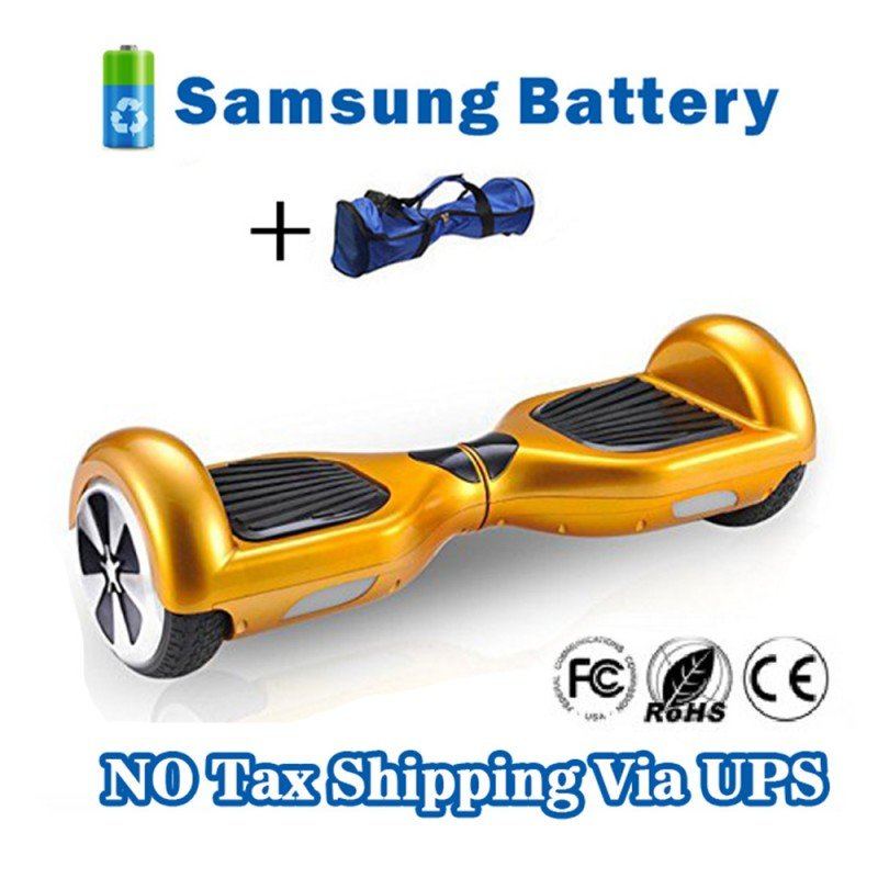 6.5 inch Self electric balance scooter 2 Wheels Hover Board Gold