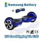 6.5 inch Self electric balance scooter 2 Wheels Hover Board Blue