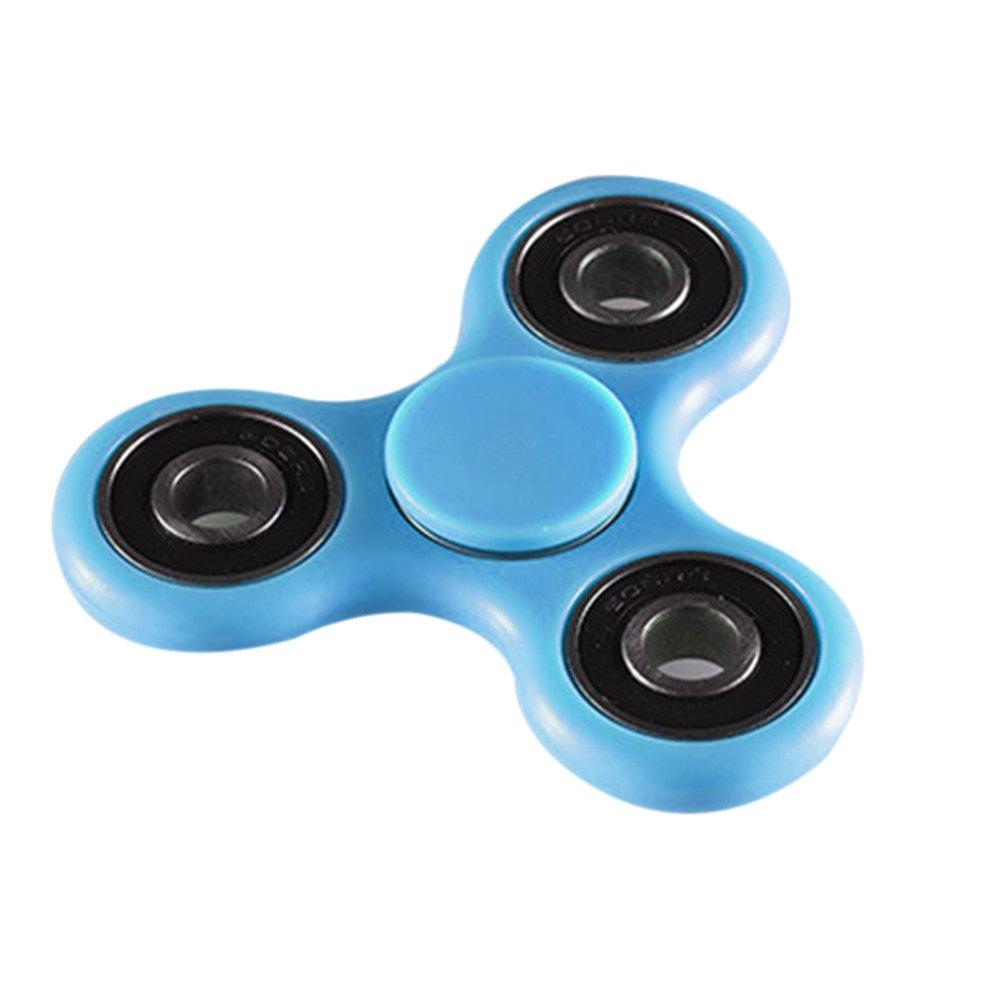 High Speed Hand Fidget Spinner Finger Gyro - Blue