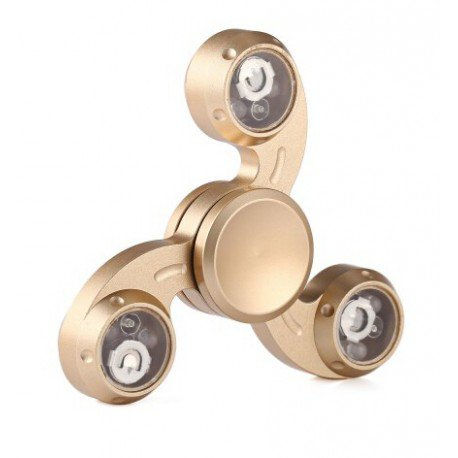 EDC Finger Spinner Gyro Fidget Toy - Gold