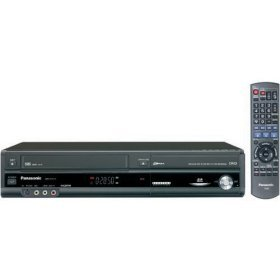 Panasonic DMR-EZ47VK Up-Converting 1080p DVD-Recorder/VCR Combo with Built In ATSC Tuner