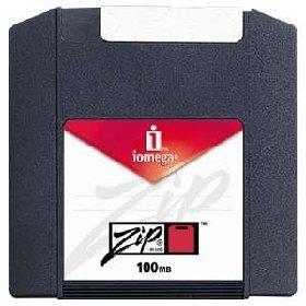 3PK Zip 100MB Sleeve Pc/Mac Compatible