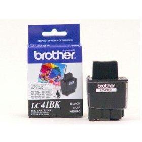 Brother LC41BK2PKS Black Ink Cartridge ( 2 Pack )