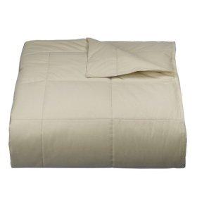 Woolrich Cream/Ivory Down Blanket - Full/Queen