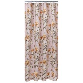 Tiger Lily Matelasse Shower Curtain, by Springs Industries