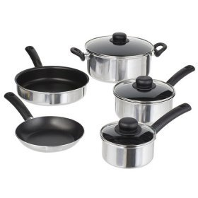 Chefmate® 8-pc. Cookset - Aluminum