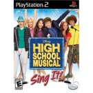 High School Musical: Sing it, by Disney - (Playstation 2)