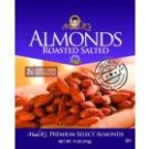 Madi K's Roasted and Salted Almonds, 5.5-Ounce Pouches (Pack of 4)