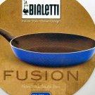 """Bialetti FUSION 12"""" inch Non-Stick Saute Pan - Blue"""