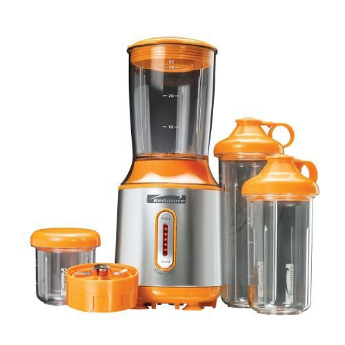 Kenmore Stand 4-Cup Blender with Coffee Mill and 3 Portable Cups