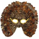 Owl Be Seeing You Feather Venetian Mask Costume Party Masquerade Prom