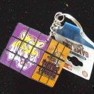 LSU Tigers Rubic Cube Keychain Licensed Great Gift
