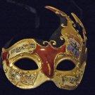 Venetian Mask Mardi Gras Drama New Orleans Flame #2