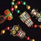 Zombie Voodoo Doll Bead Necklace Mardi Gras Spells Omen Beads Magic Mojo Revenge