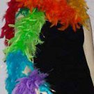 100 Gram Multicolor Feather Boa  Party Masquerade Ball