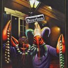 Cajun Mardi Gras Crawfish Adam Sambola Art Print New Orleans Creole