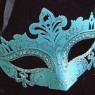 Laser Cut Eye Mask Your Color Choice Crystal Mardi Gras New Orleans Halloween