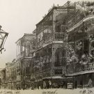 French Quarter Lace Don Davey New Orleans Matted Art Print French Quareter