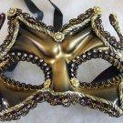 Dynasty Mask Premium Costume Mardi Gras Mask Carnival
