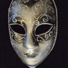 Venetian Round Full Stick Mask Your Choice Color Mardi Gras Costume Prom Party