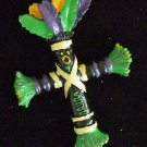 Voodoo Doll Cross Bead Revenge Prayer Power Money Luck New Orleans Magic Beads