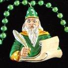 Wizard Casting Spells Mardi Gras New Orleans Beads