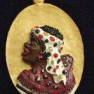 Shaka Zulu Lady African Mardi Gras Necklace Beads