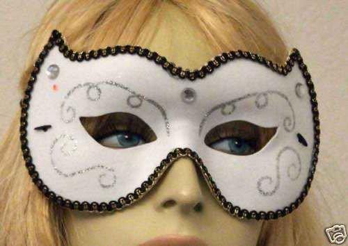 Debutante Masquerade Mardi Gras Ball Theater Play Mask
