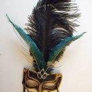 QUEEN of GOTH MASQUERADE Ball Mardi Gras Mask Party