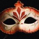 Venetian Mask Mardi Gras Costume Red Trident