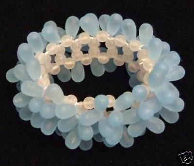 BLUE Bracelet Mardi Gras New Orleans Party Costume