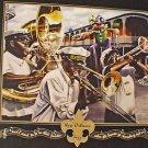 New Orleans Jazz Crawfish Adam Sambola Art Print New Orleans