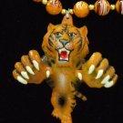 TIGER FOOTBALL TEAM GEAUX TIGERS Mardi Gras Beads
