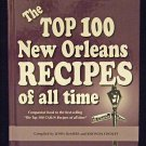 The Top 100 New Orleans Recipes of All Time Hard Cover Book Louisianna