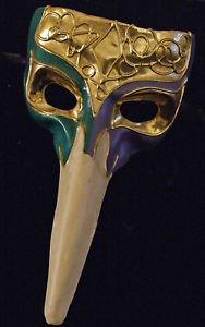Venetian Mask Mardi Gras Colors Casanova Halloween Fun