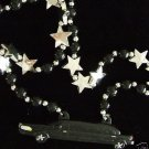 STRETCH BLACK LIMO Mardi Gras Bead Necklace New Orleans