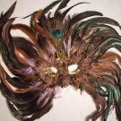 Pink Moonlight Star Feather HALLOWEEN Ball Party Mask